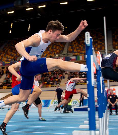 Direct brons op je eerste NK bij de senioren, da's niet gek vindt atleet Léon Mak