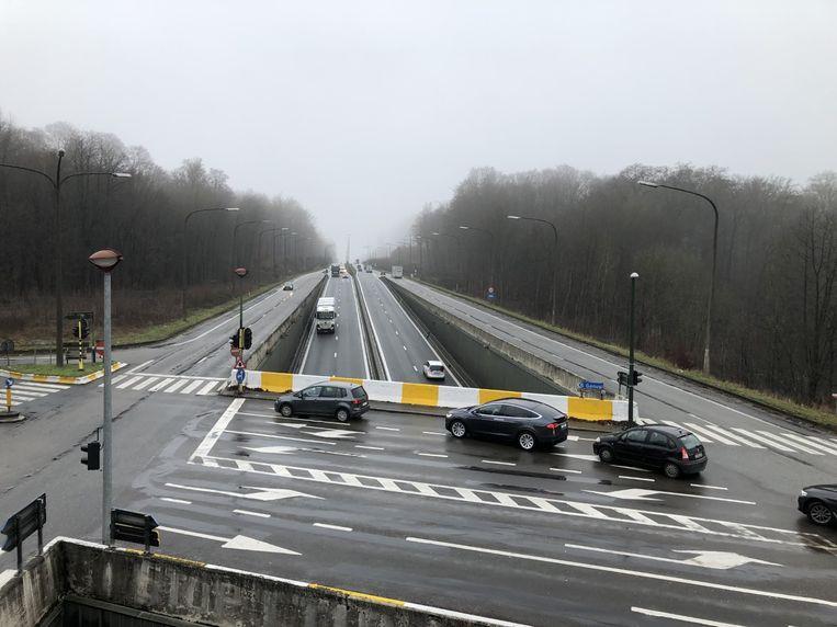 Ook met het oostelijk deel van de Brusselse ring - hier in Groenendaal - heeft De Werkvennootschap vernieuwingsplannen.