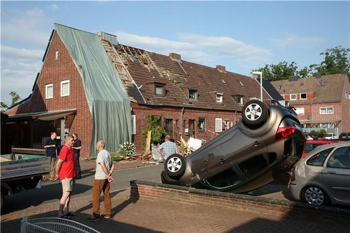 Veel schade in Bocholt