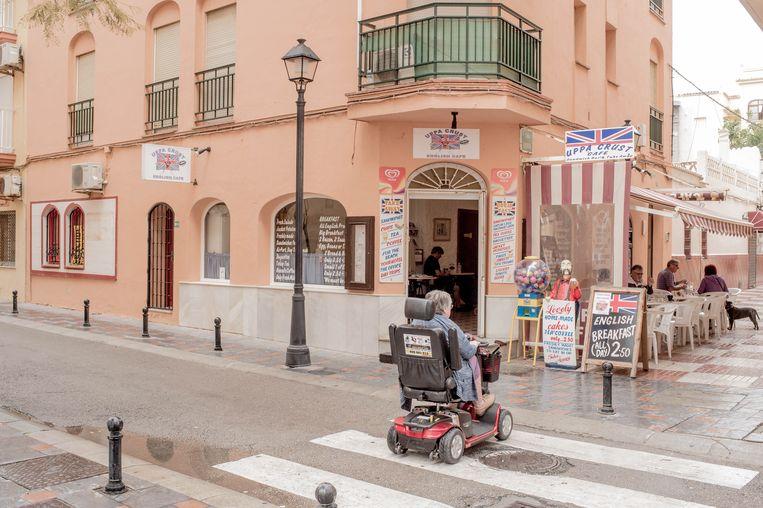 Een restaurant in Fuengirola aan de Costa del Sol.