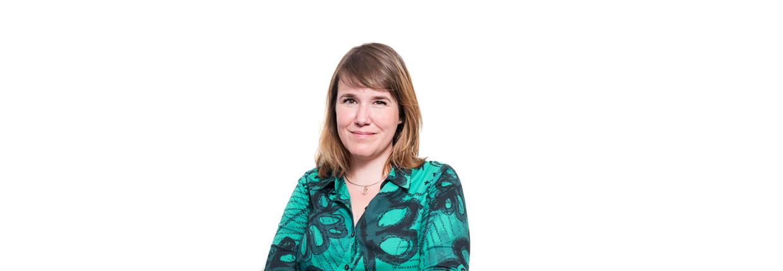 Ionica Smeets, afbeelding bij column