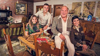"""Sergio en zijn gezin keren in 'Groeten uit' terug naar het jaar 1977: """"Dat kindse van toen gaat er nooit uit"""""""
