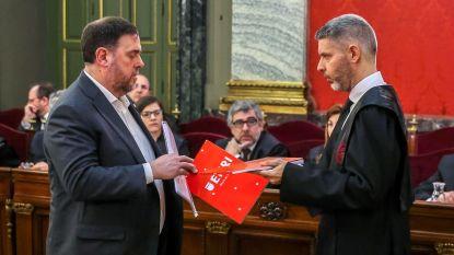"""Zware celstraffen tot 13 jaar voor separatistische Catalaanse politici: """"Dit is barbaars"""""""
