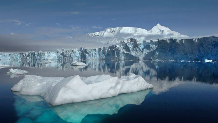 De Sheldon gletsjer op Antarctica Beeld Reuters