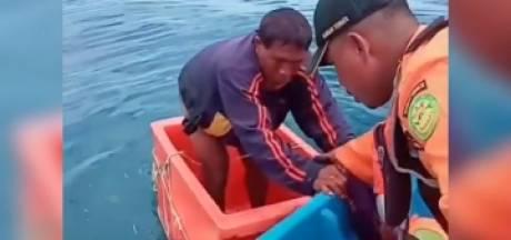 Un pêcheur porté disparu en mer, retrouvé en vie dans une glacière