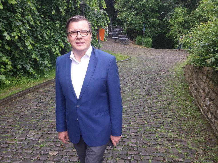 Burgemeester Guido De Padt.