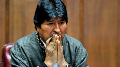 Arrestatiebevel tegen Boliviaanse ex-president Evo Morales