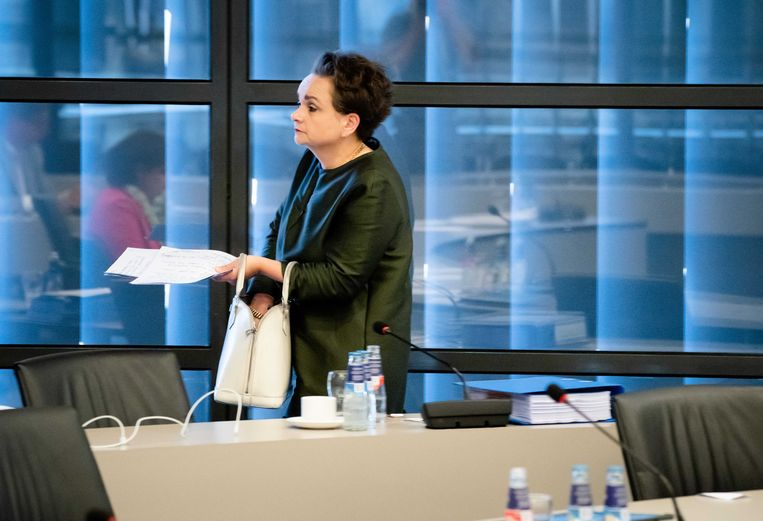 Staatssecretaris Alexandra van Huffelen van Financiën, mede aangesteld om problemen bij de Belastingdienst aan te pakken. Beeld ANP