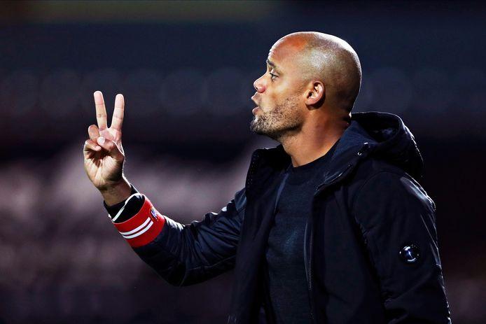 Anderlecht est toujours invaincu, mais coach Kompany a du boulot.