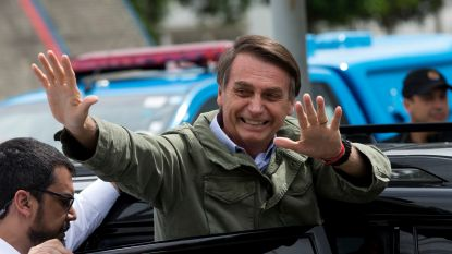 Brazilië maakt ruk naar rechts met keuze voor omstreden Bolsonaro als president