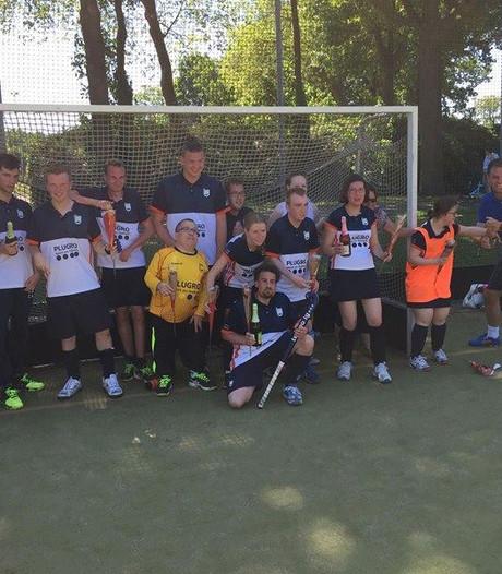 Gehandicaptenteam MHC Tempo uit Bergen op Zoom landskampioen