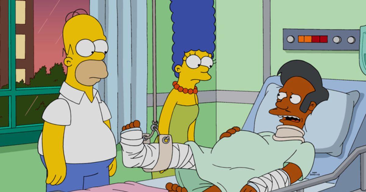 """""""Apu gaat niet weg uit The Simpsons"""""""