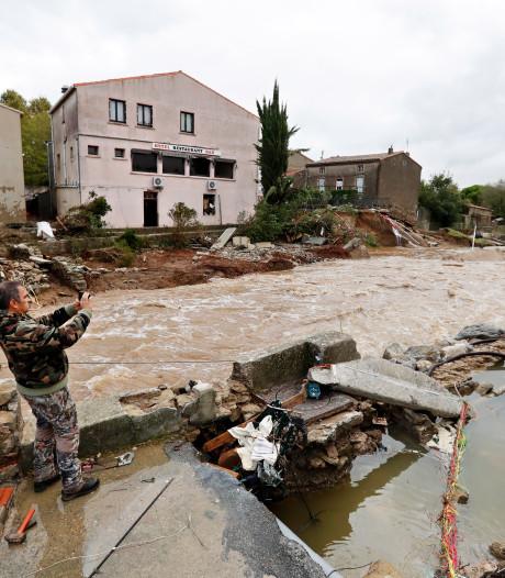 Dertien doden door noodweer in Zuid-Frankrijk