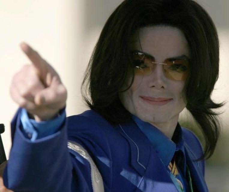 Michael Jackson. ANP Beeld