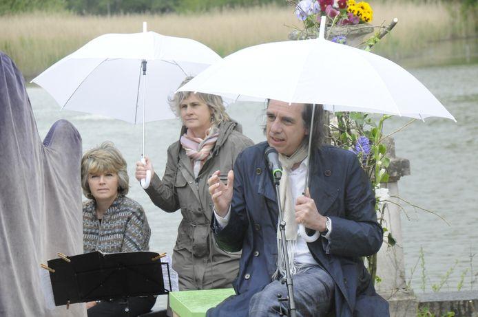 Dirk De Wachter kwam het project mee lanceren en nam het woord.