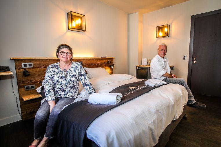 Suzy Vanwynsberghe en Mark Van Humbeeck van hotel Bonne Auberge