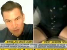 Un ministre roumain dévoile par erreur son caleçon en plein direct