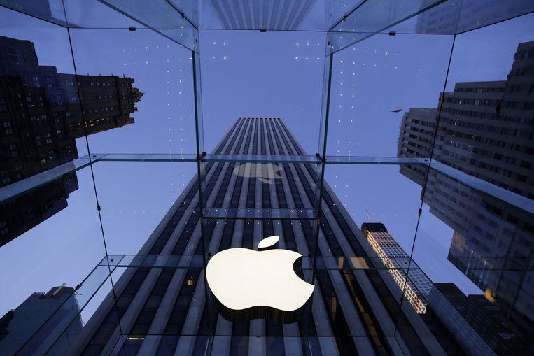 Apple-winkel in New York. Beeld ap