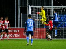 Jong PSV-keeper Maxime Delanghe in prima vorm terug na corona: 'Wilde mezelf opeten na achttien dagen'