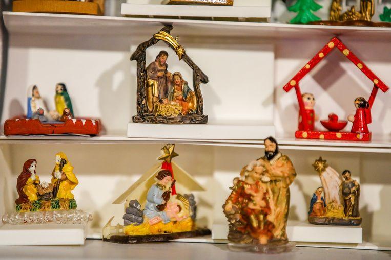 De kleinste kerststalletjes van Franky.