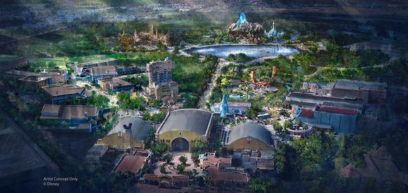 Het uitbreidingsplan van Disneyland Paris