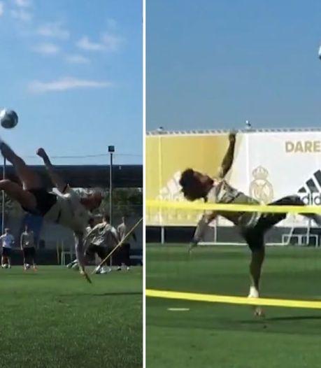 Ramos et Marcelo font le show à l'entraînement avec le Real Madrid