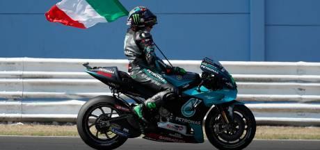Wéér een nieuwe winnaar in MotoGP: Morbidelli de snelste