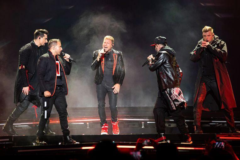 De Backstreet Boys.