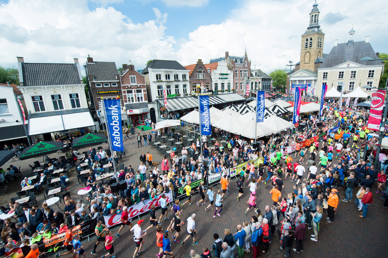 Is de Halve Marathon verleden tijd? Als er geen vrijwilligers bijkomen wel, zegt Edward Heijnemans.