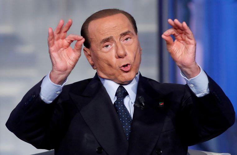 """Silvio Berlusconi: """"Ik heb in het openbaar gezegd dat ik de Koude Oorlog wilde beëindigen."""""""