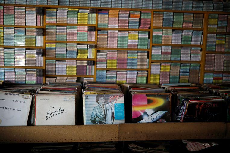Het gaat weer beter met de vinylverkoop. Beeld REUTERS