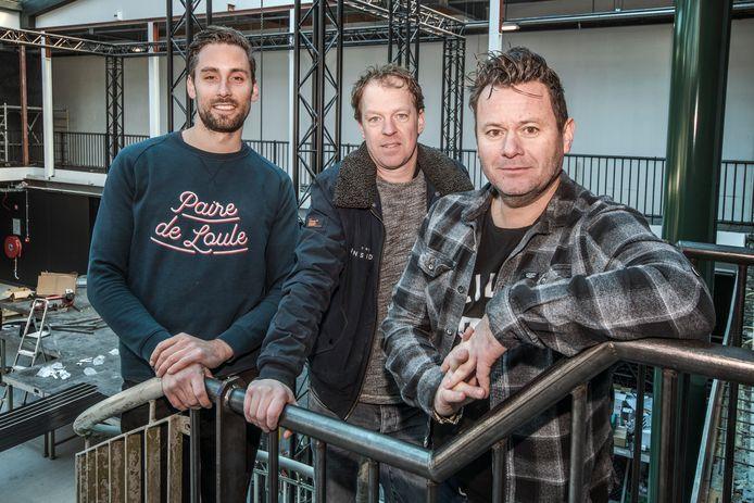 Het team achter The Inside (vlnr): Erik Haenen, Marrick Verhoeven en Alwin Houwing.