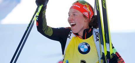Biatlete Dahlmeier pakt vijfde goud op WK