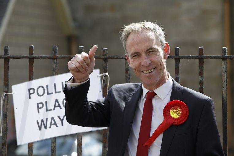 Jim Murphy, leider van de Scottish Labour Party. Beeld EPA
