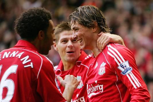 Torres werd bij Liverpool op handen gedragen.