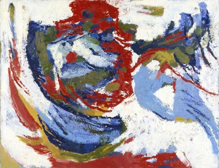 Frieda Hunziker, Compositie, 1965.  Beeld Collectie Rijksdienst voor het C