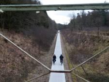 Fietspad door spoorkuil Groesbeek 2 dagen dicht