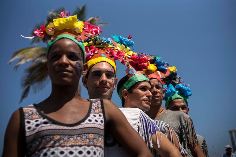 Archieffoto van Gay Pride in Havana.