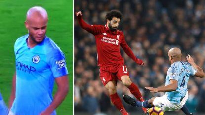 """Vincent Kompany noemt Salah een 'pussy' na stevige tackle, Klopp briest: """"Moeten we eerst bloed zien?"""""""
