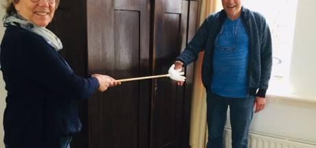Toch een (veilige) hand voor jarige Jacques in Megen