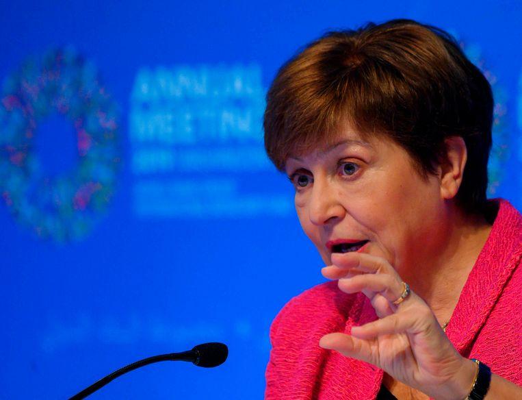 Kristalina Georgieva, topvrouw IMF.