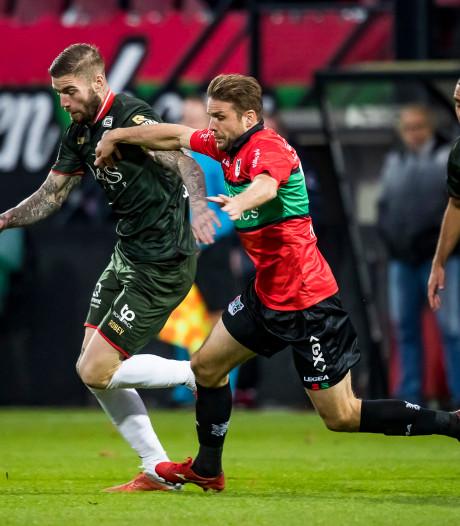 Twee wedstrijden schorsing voor Joey van den Berg