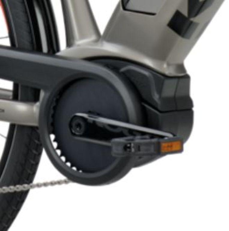Voor het hart van de fiets, de motor, vertrouwt Koga als zoveel andere fabrikanten op Bosch, met de inmiddels vertrouwde derde generatie Performance Line middenmotor. Beeld