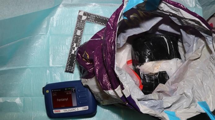 Een kilo van het uiterst gevaarlijke fentanyl werd gevonden in het schuurtje van de 42-jarige Eindhovenaar.