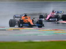 McLaren verdringt Racing Point in slotrace van derde plaats