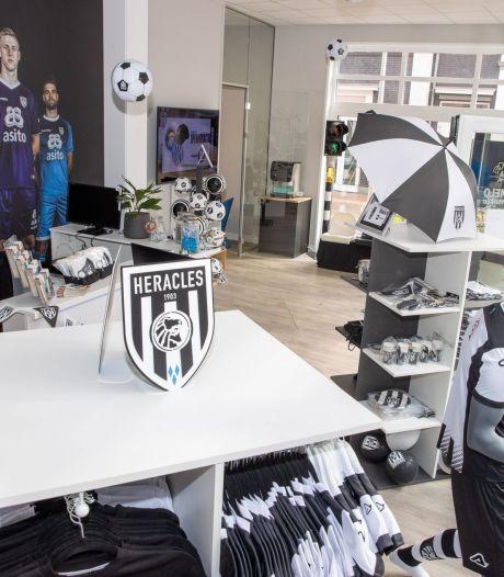 Heracles opent fanshop in het centrum van Almelo