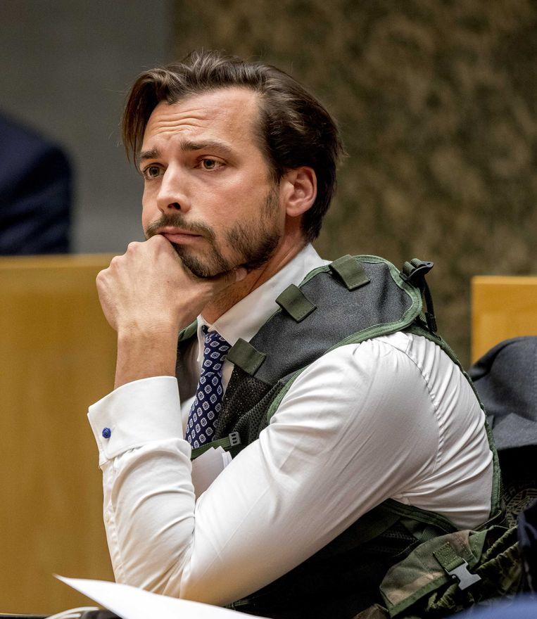 Thierry Baudet bij het Kamerdebat. Beeld ANP