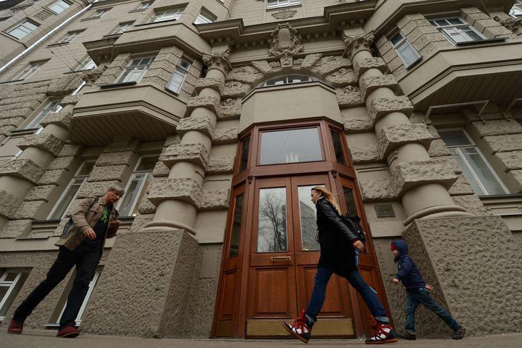De flat waarin Elderenbosch woont. Beeld AFP