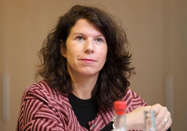 Staatssecretaris Bianca Debaets (CD&V) onder meer bevoegd voor Dierenwelzijn in de Brusselse Hoofdstedelijke Regering.