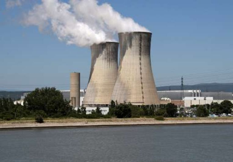 Het nucleaire complex Tricastin.